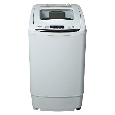 Midea 0.92 cu ft Stainless Steel Portable & Digital Washing Machine - White MAR30-P0501G