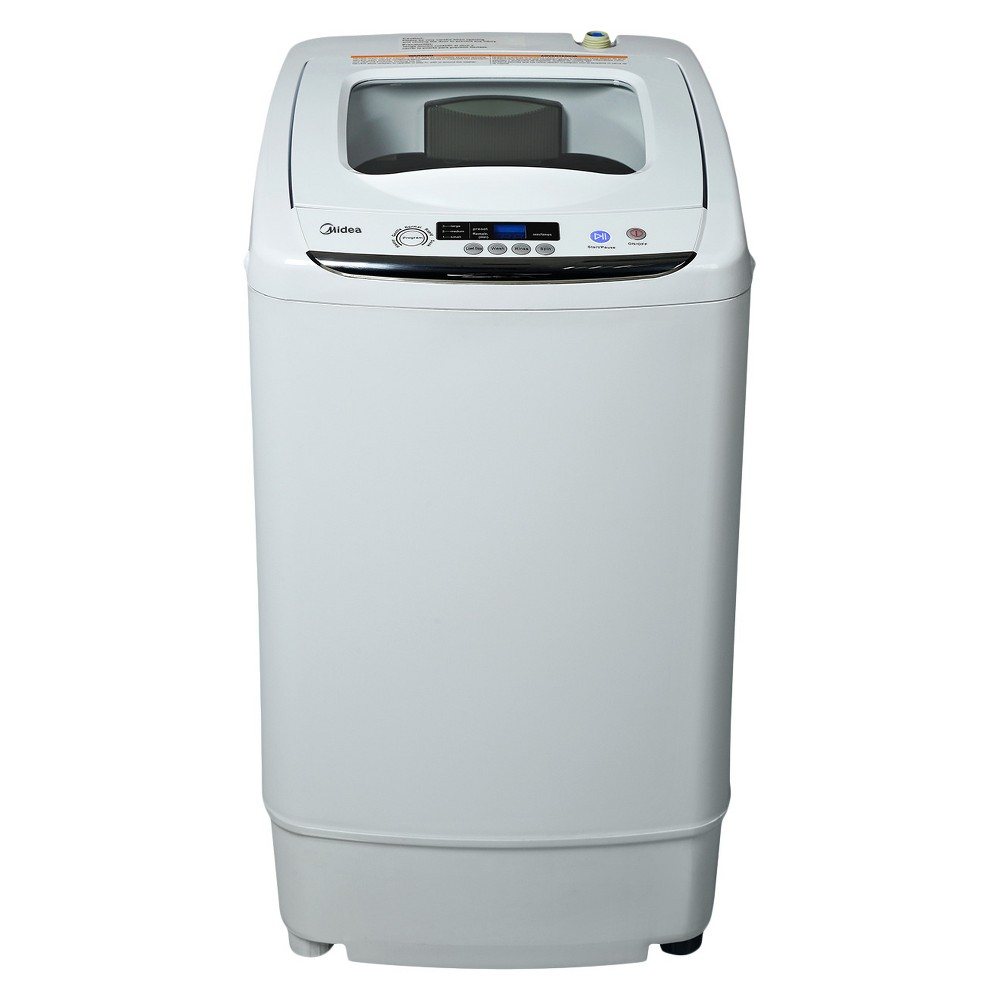 Image of Midea 0.92 cu ft Stainless Steel Portable & Digital Washing Machine - White MAR30-P0501G