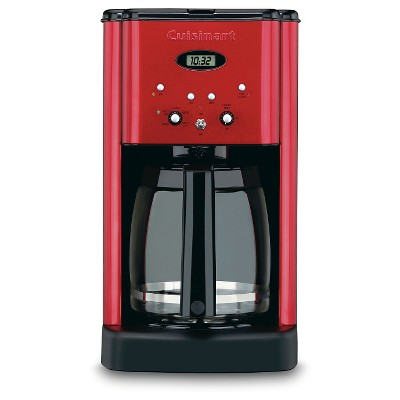 Cuisinart® Brew Central 12 Cup Programmable Coffee Maker - Metallic Red DCC-1200MR