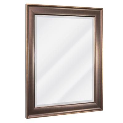 "28"" x 34"" Oil Rubbed Mirror Bronze - Head West"