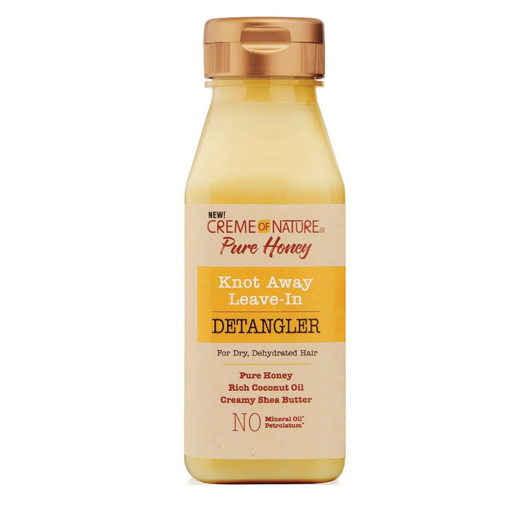 Image of Cream of Nature Pure Honey Knot Away Leave-In Detangler - 8oz