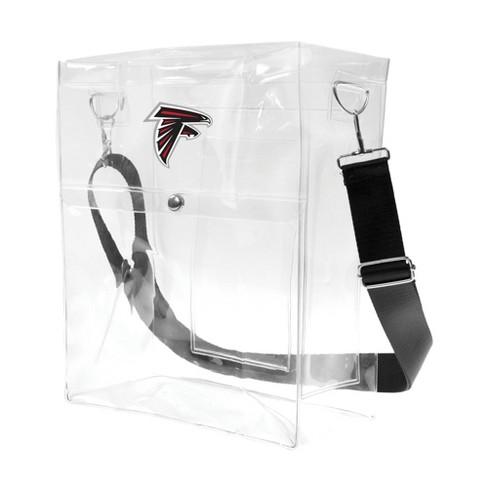 NFL Atlanta Falcons Clear Ticket Satchel - image 1 of 4