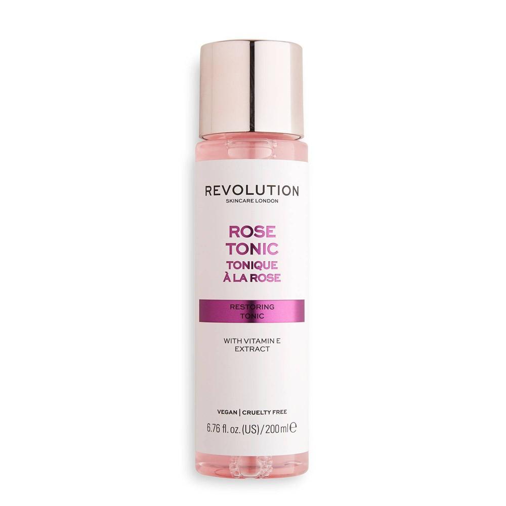 Makeup Revolution Skincare Rose Tonic 6 76 Fl Oz