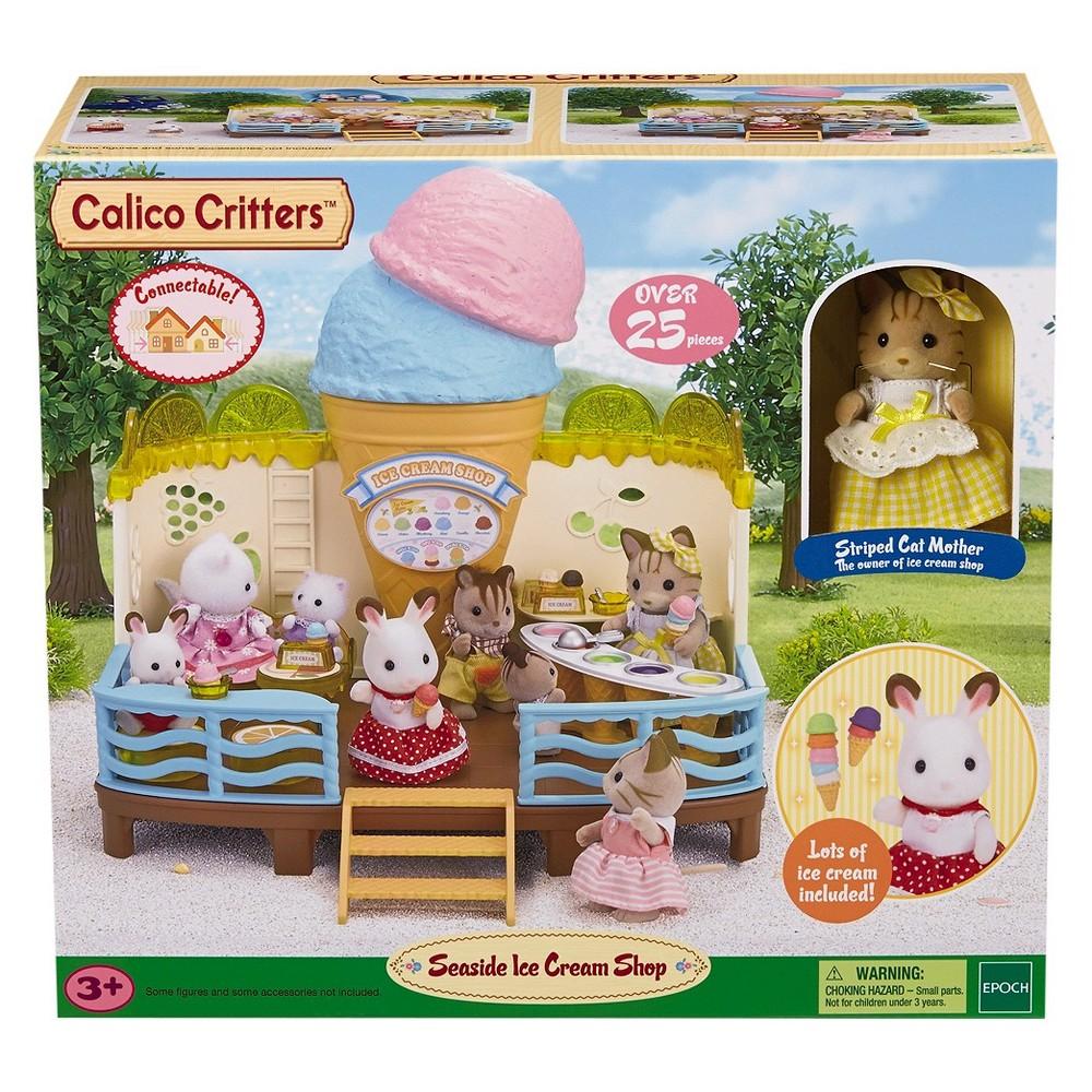 Calico Critters Seaside Ice Cream Shop, Multi-Colored