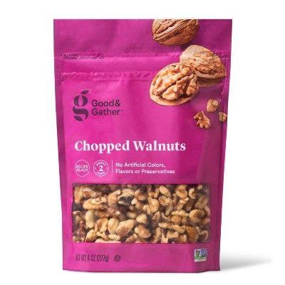 Chopped Walnuts - 8oz - Good & Gather™