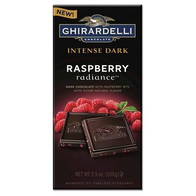 Ghirardelli Intense Dark Raspberry Radiance Dark Chocolate Bar - 3.5oz
