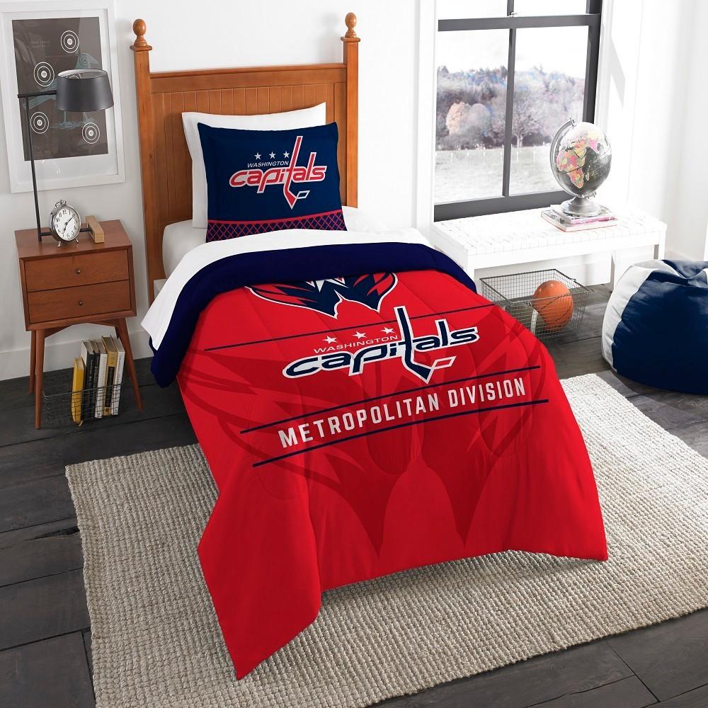 NHL Washington Capitals Northwest Draft Twin Comforter Set