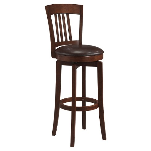 Cool 25 Canton Swivel Counter Stool Wood Brown Hillsdale Furniture Lamtechconsult Wood Chair Design Ideas Lamtechconsultcom