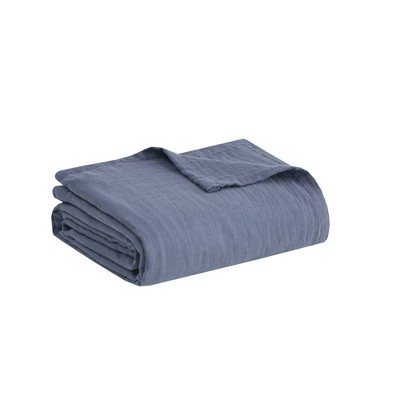 100% Cotton Gauze Bed Blanket - Clean Spaces