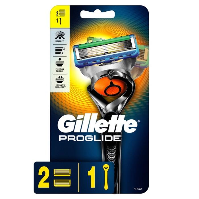 Gillette ProGlide Men's Razor + 2 Razor Blade Refills : Target