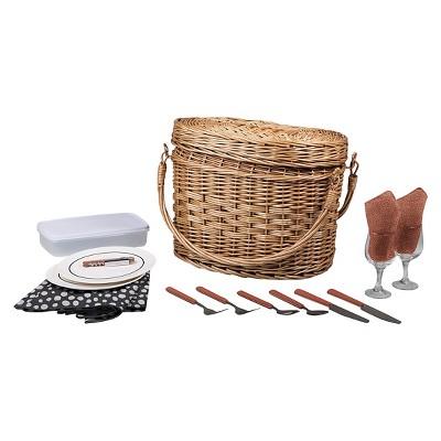 Picnic Time Romance Picnic Basket - Adeline Collection