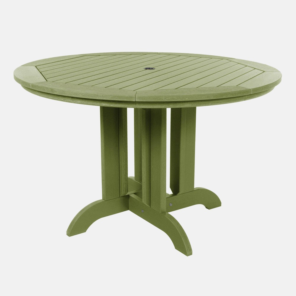 """Image of """"48"""""""" Round Patio Dining Table Dried Sage - highwood, Dried Green"""""""