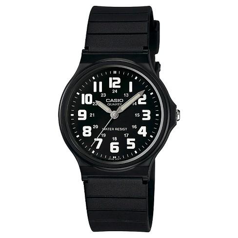 Men's Casio  Analog Watch- Black - image 1 of 1