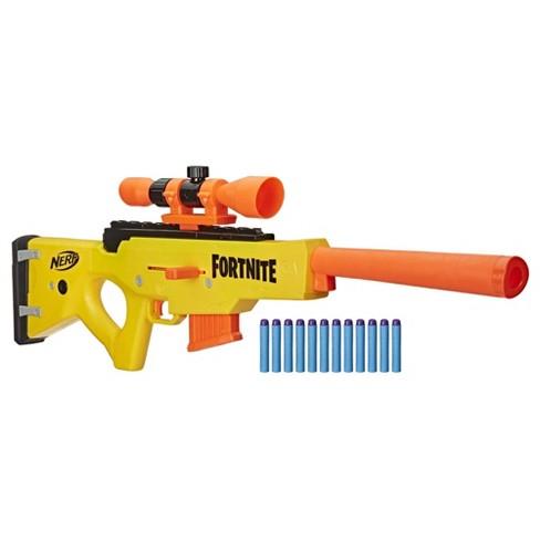 Fortnite Weapon Review Nerf Fortnite Basr L Blaster Target