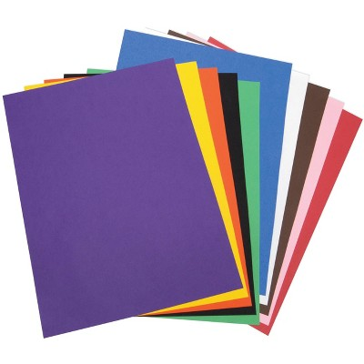 Tru-Ray Sulphite Construction Paper, 18 x 24 Inches, Assorted Colors, pk of 50