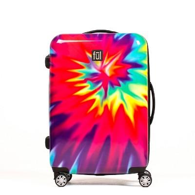 FUL 24  Hardside Spinner Suitcase - Tiedye Swirl