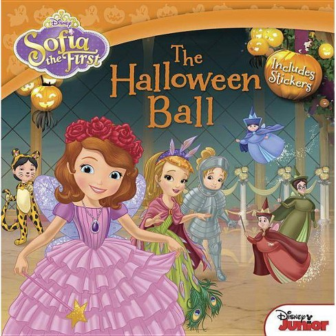 The Halloween Ball: Includes Stickers (Sofia the First) (Paperback) by Lisa Ann Marsoli - image 1 of 1