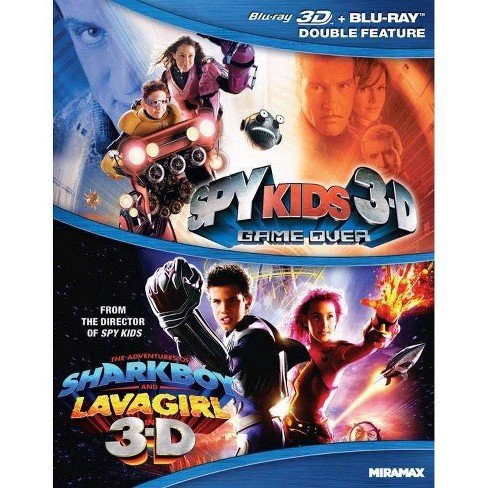 Spy Kids 3-D: Game Over / The Adventures of Shark Boy & Lava Girl (Blu-ray) - image 1 of 1