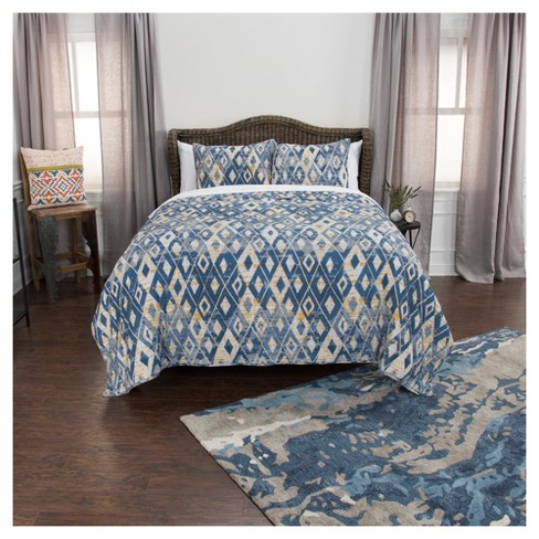 Maddux Place Cotton Quilt Set - Rizzy Home - image 1 of 8