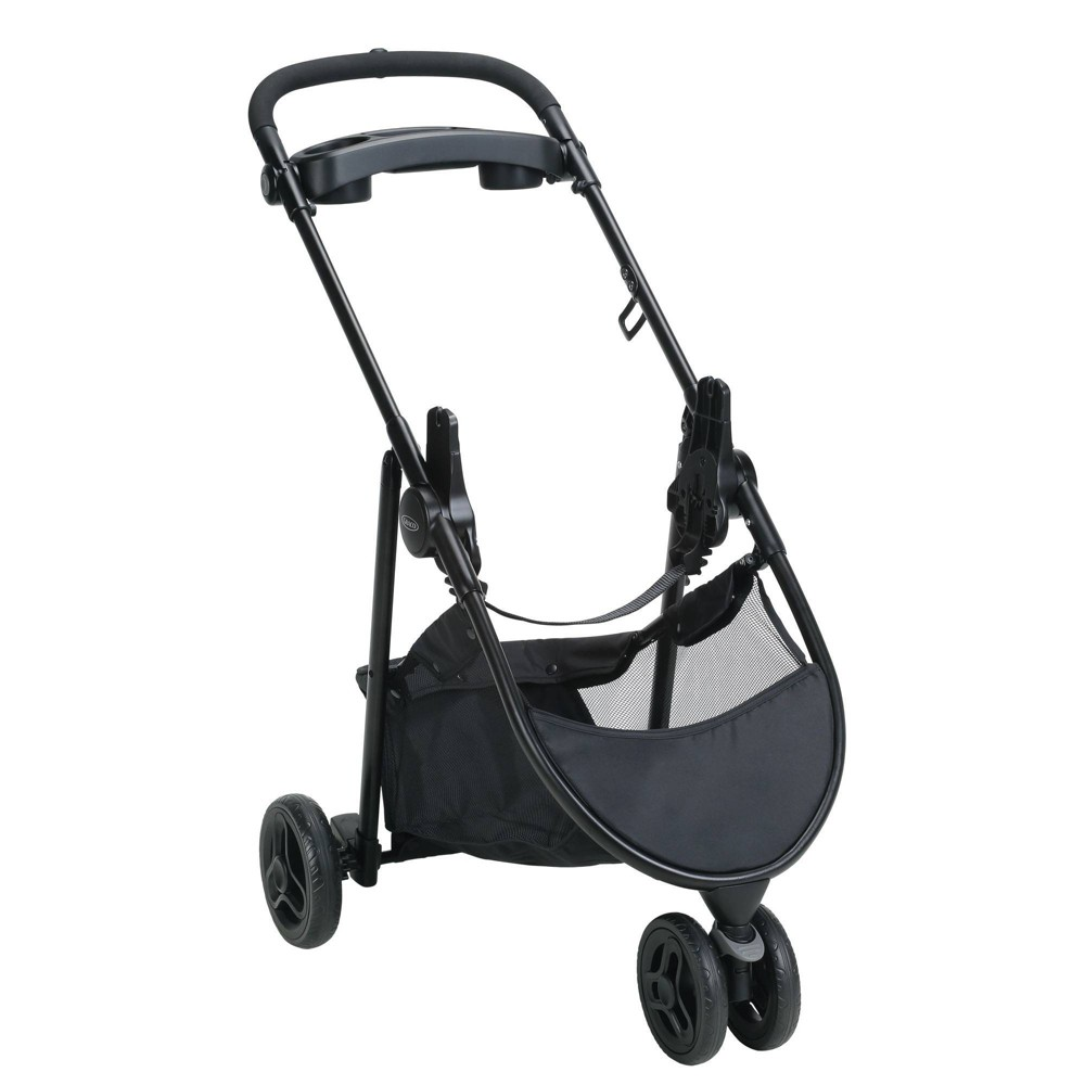 Image of Graco SnugRider 3 Elite Car Seat Carrier Stroller, Black