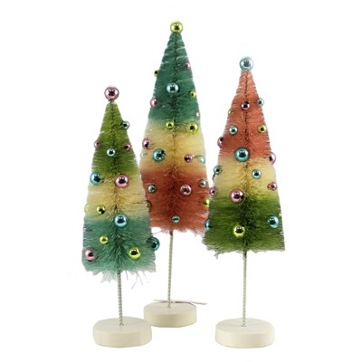 "Easter 11.0"" Pastel Bottle Brush Tree Spring Beads Celebrate  -  Decorative Figurines"