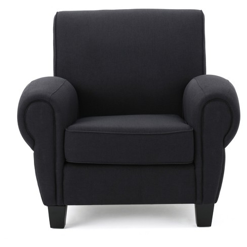 Finley Upholstered Club Chair - Christopher Knight Home - image 1 of 4