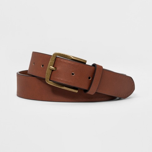 Men's 35mm Round Bevel - Goodfellow & Co™ Brown - image 1 of 1