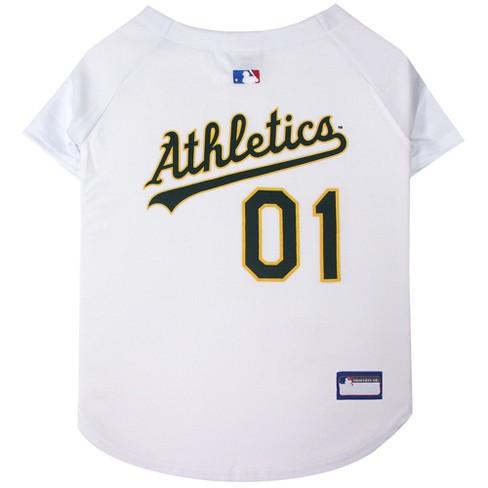 size 40 5a6b7 f769d MLB Pets First Pet Baseball Jersey - Oakland Athletics