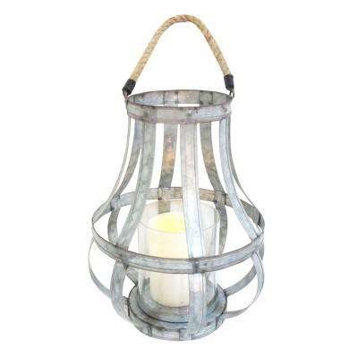 """Metal Lantern 13.5"""" - A&B Home"""