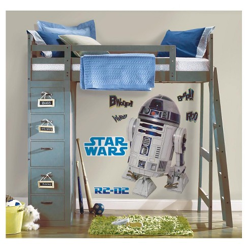 RoomMates Star Wars Classic R2D2 Peel & Stick Giant Wall Decal - image 1 of 4