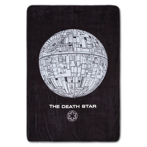 Rogue One: A Star Wars Story® Bed Blanket Black & Gray - image 1 of 1