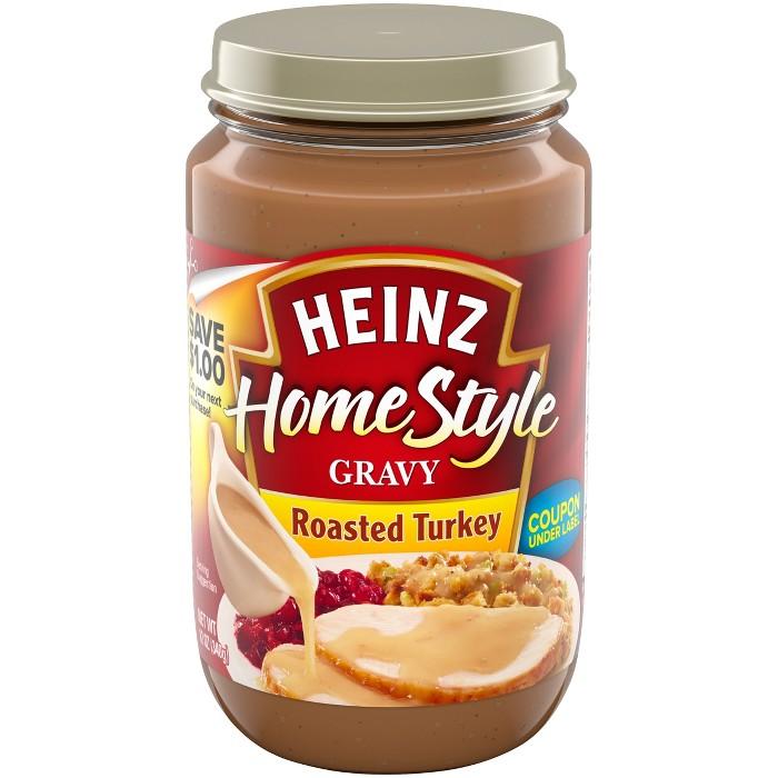 Heinz Home Style Roasted Turkey Gravy - 12oz - image 1 of 5