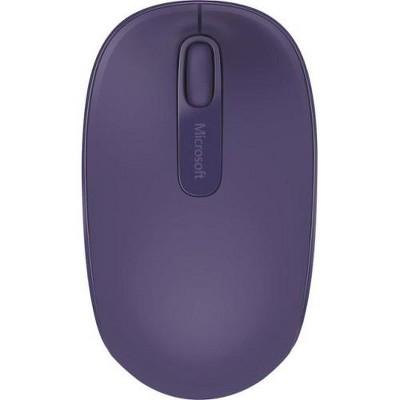 Microsoft 1850 Mouse - Wireless - Radio Frequency - Purple - USB 2.0 - 1000 dpi - Scroll Wheel - 3 Button(s)