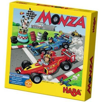 HABA Monza - A Car Racing Beginner's Board Game