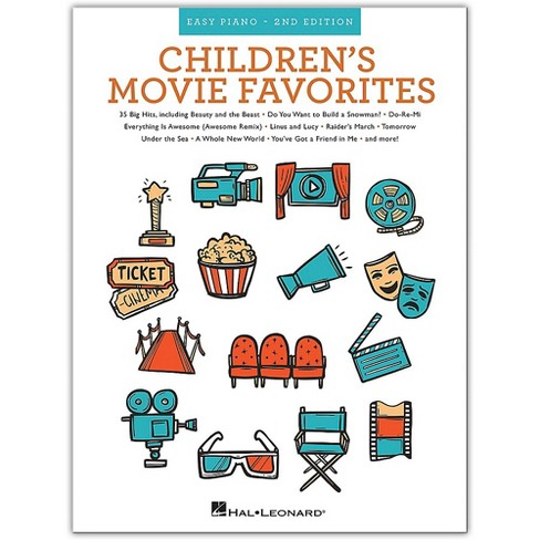 Hal Leonard Children's Movie Favorites - 2nd Edition (Easy Piano) Easy Piano Songbook Series Softcover by Various - image 1 of 1