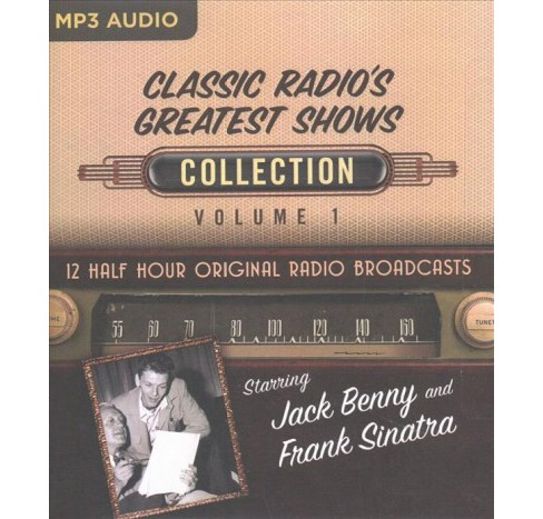 Classic Radio's Greatest Shows Collection -   Book 1 (MP3-CD) - image 1 of 1