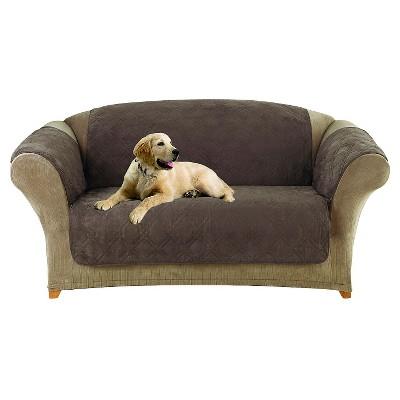 Furniture Friend Microfiber Non-Skid Loveseat Furniture Protector - Sure Fit