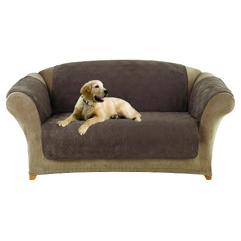 Furniture Friend Microfiber Nonskid Loveseat Pet Cover Sure Fit