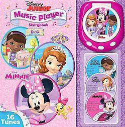 Disney Junior Music Player Storybook ( Music Player Storybook) (Hardcover)  by Disney Junior