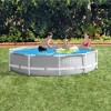 Intex 26700EH 10ft x 30in Prism Metal Frame Round Above Ground Outdoor Backyard Swimming Pool for Summer, (No Pump) - image 3 of 4