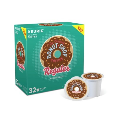 The Original Donut Shop Regular Keurig Single-Serve K-Cup Pods, Medium Roast Coffee, 32ct