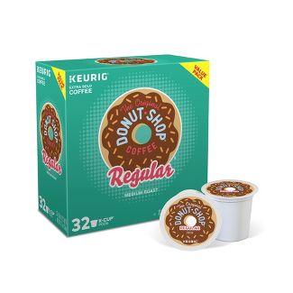 The Original Donut Shop Regular Keurig Single-Serve K-Cup Pods, Medium Roast Coffee, 32ct