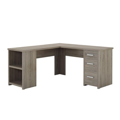 Fullerton Office Pro L Desk Oak - Room & Joy