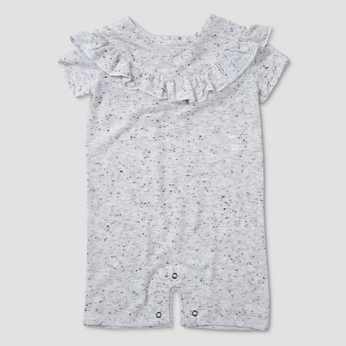 1424e601540d Baby Girls  Afton Street Short Sleeve Romper - Ivory   Target