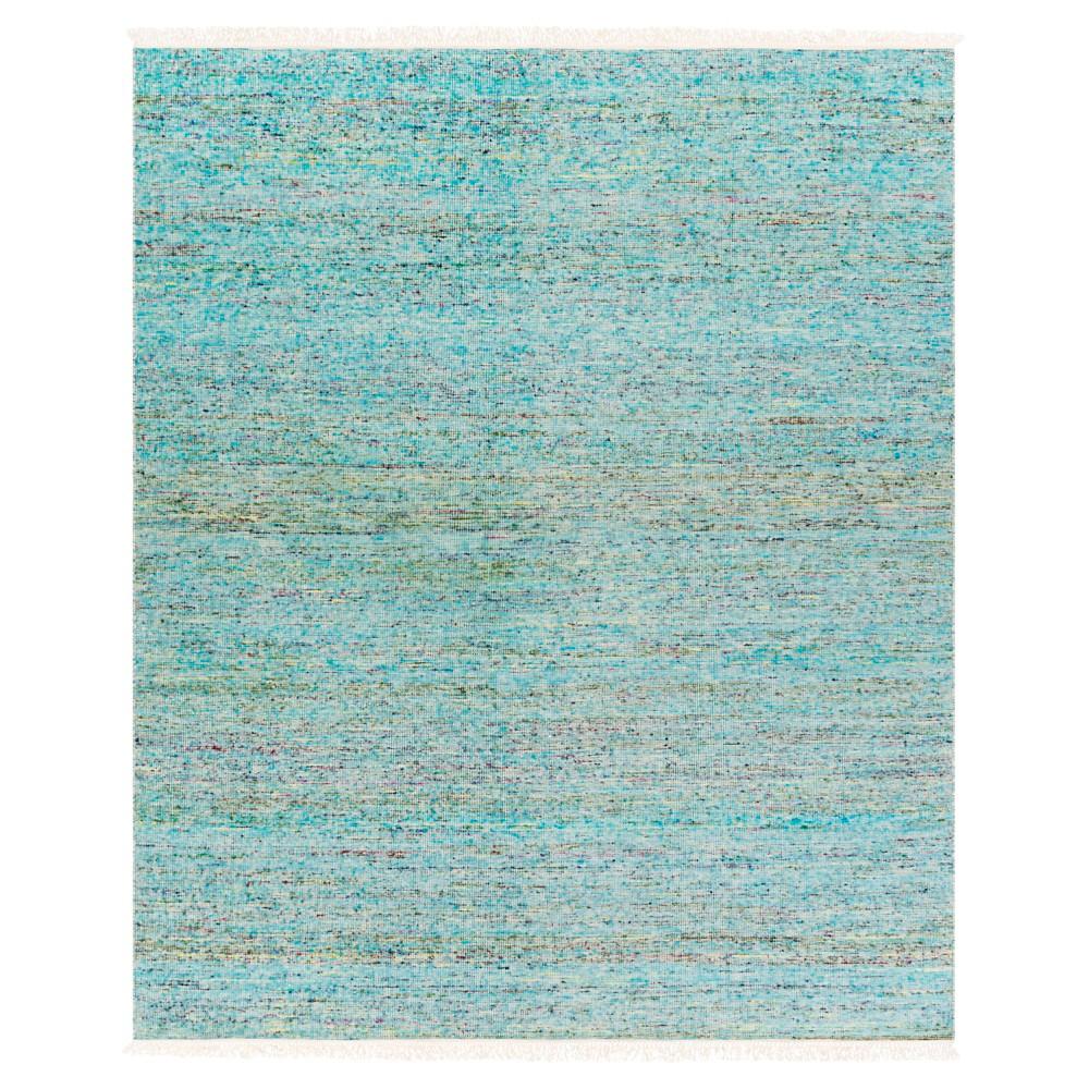 Sky Blue Solid Woven Area Rug - (8'X10') - Surya