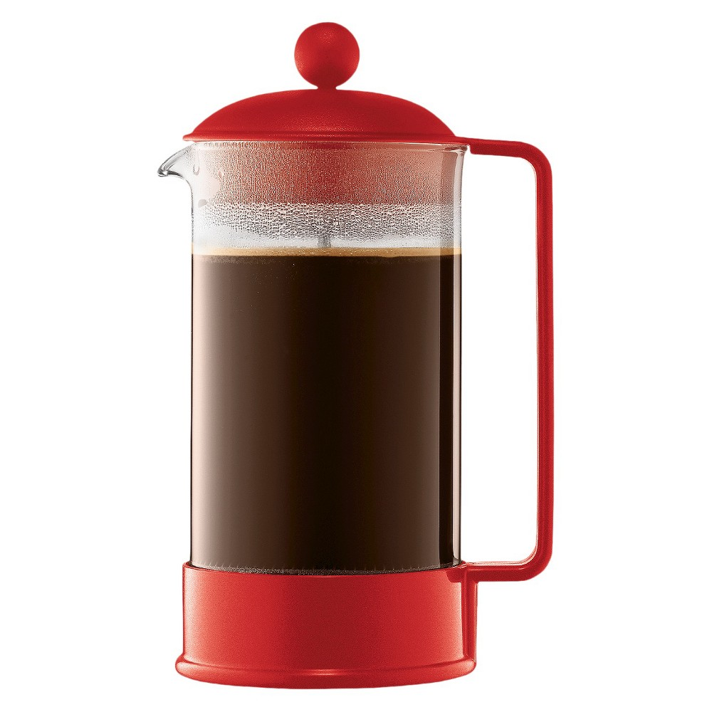 Bodum Brazil 8 Cup French Press Coffee Maker – Red 14695671