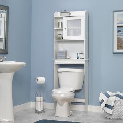 Over The Toilet Etagere White - Sauder