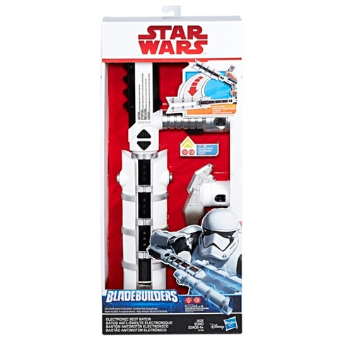 star wars the last jedi bladebuilders electronic riot baton target