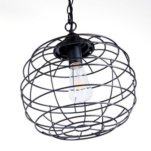Nessa Pendant Light Black - Aiden Lane - image 1 of 4