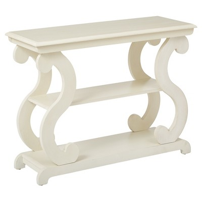 Ashland Console Table - Antique Beige - Office Star Products